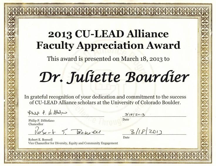 culead award