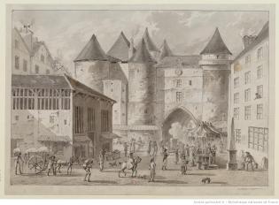 Le-Grand-Châtelet-de-Paris-1800