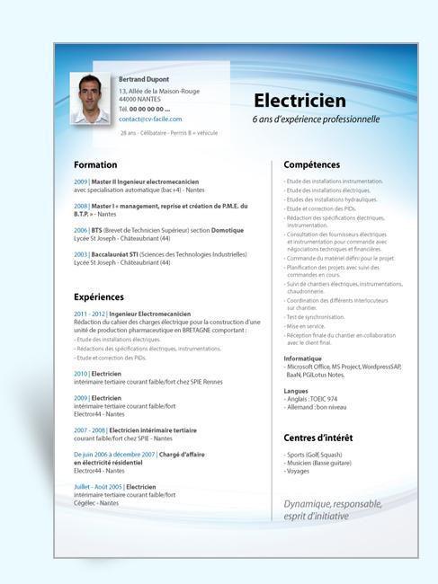 modele-exemple-cv-original-electricien