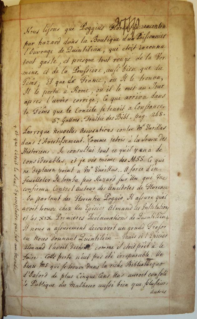 1692 Antoine varillas