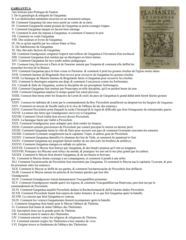 Les tables de matières de rabelais[2]