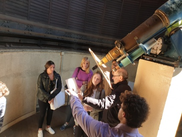 Cofc Students at the Sorbonne observatory