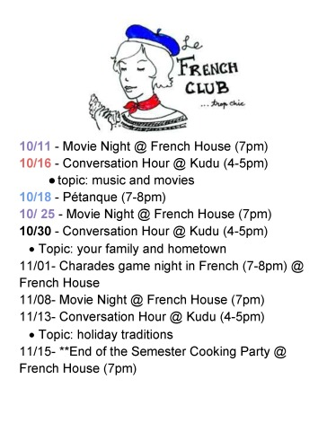 French Club Schedule for the 2018 Fall Semester_Page_2