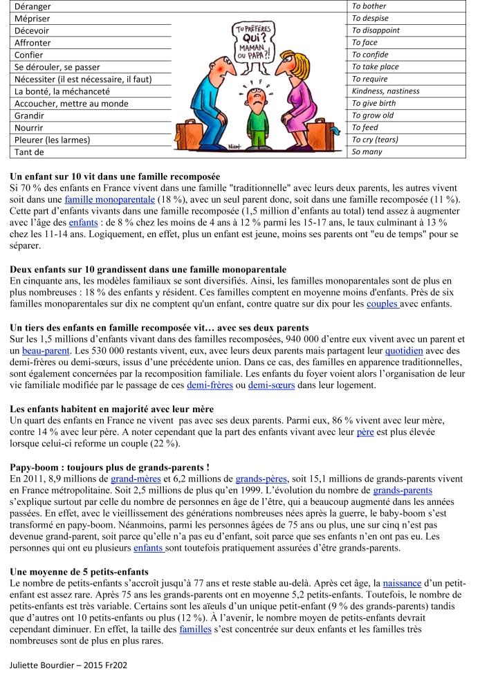 Leçon 6 vocabulaire famille-2