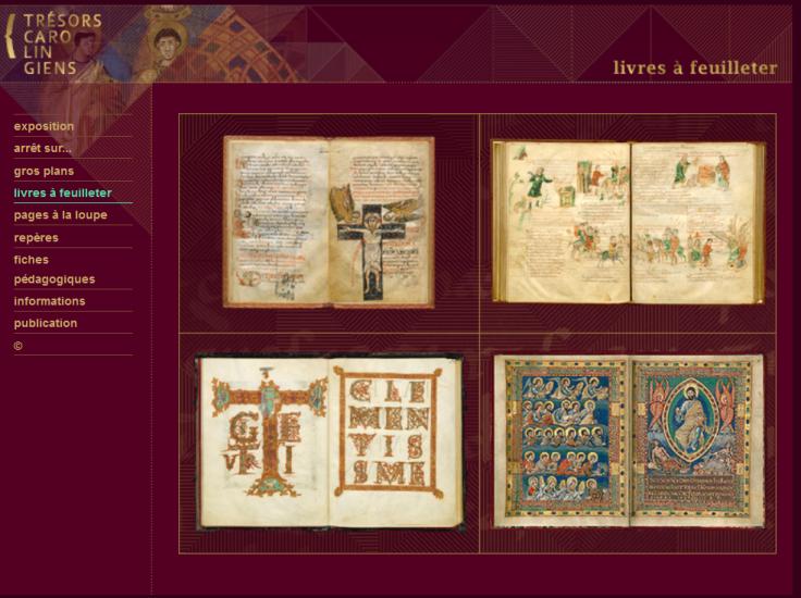 Manuscripts a feuilleter