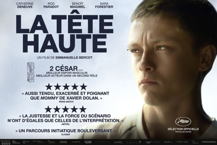 CINEROCK07 - Le blog ciné de Roland: LA TÊTE HAUTE film dramatique d'E. BERCOT (FR-2015)